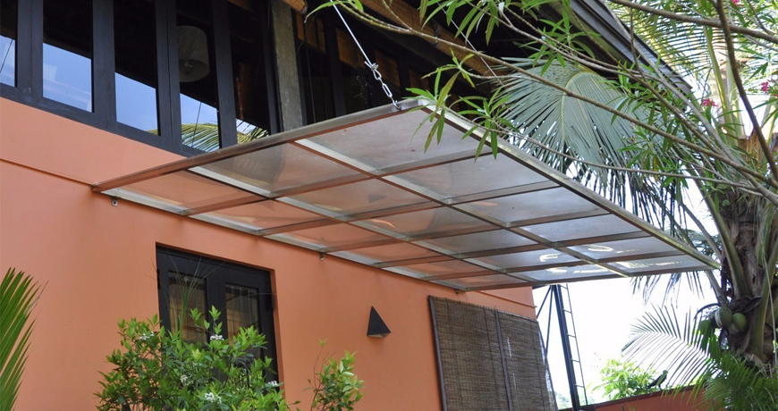Polycarbonate Canopies Leland Roofing Construction Company